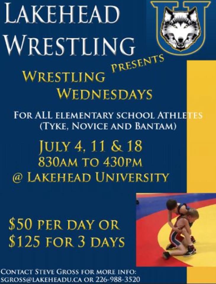 Wrestling Camp - Elementary