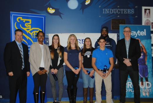 RBC Athletes of the Month