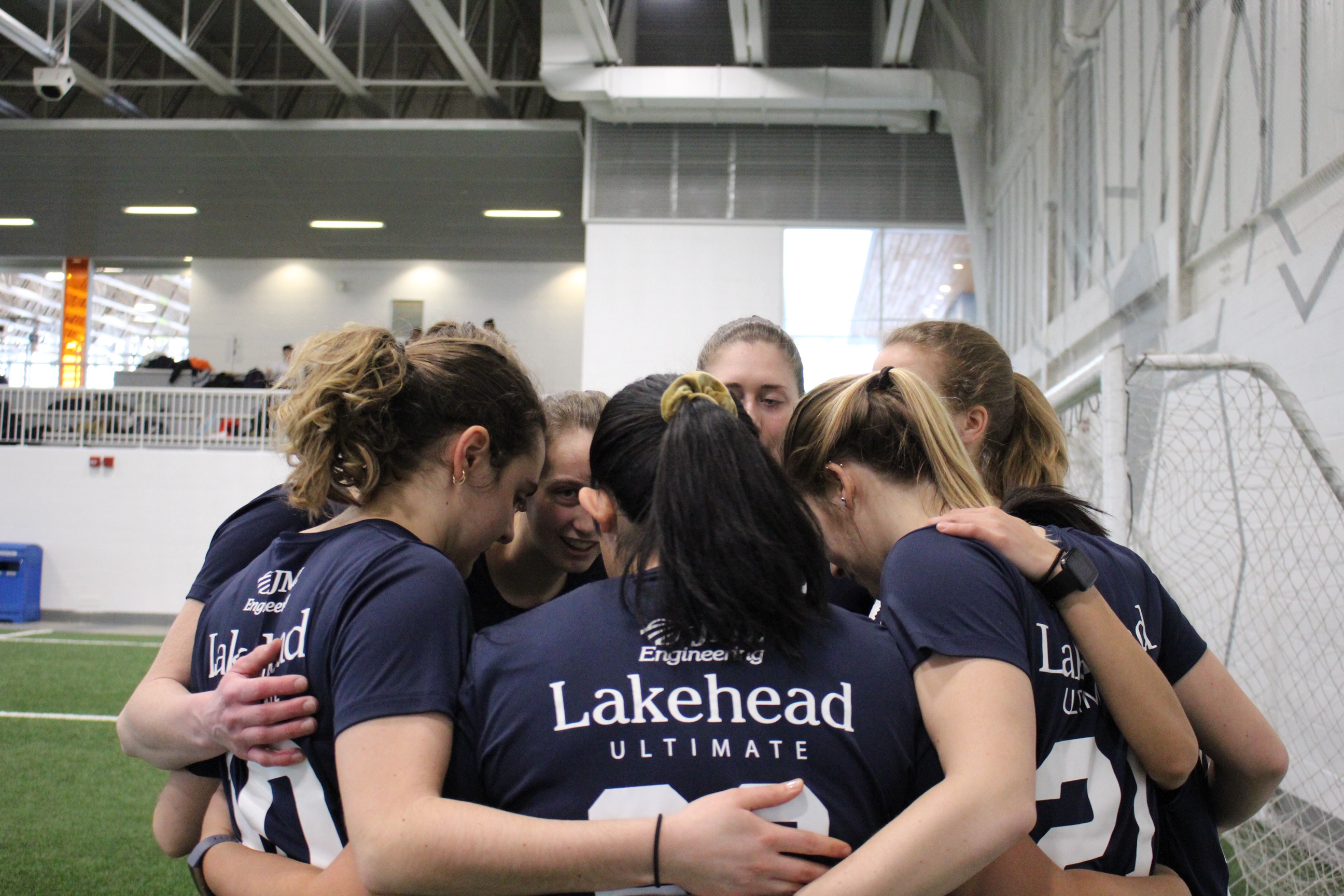 Women's ultimate frisbee squad picks up second-place finish at Brampton CIEUS