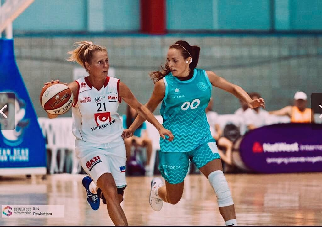 Thunderwolves' Sofia Lluch wins gold at NatWest Island Games XVIII Gibraltar 2019
