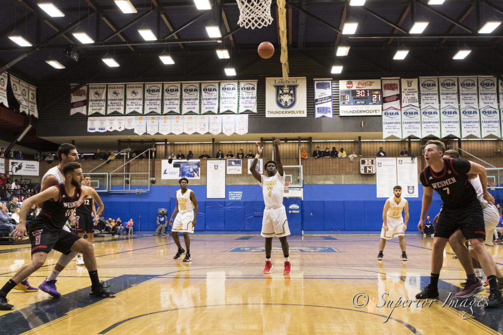 Thunderwolves Men S Basketball Comes Back To Win Second Game Lakehead Athletics