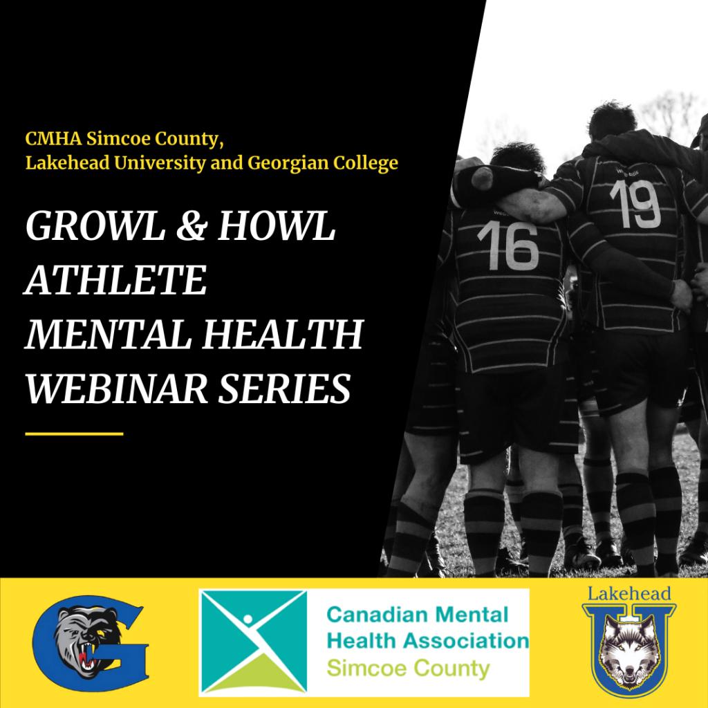 Growl & Howl Athlete Mental Health Webinar Series