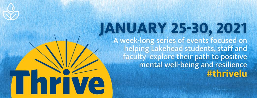 Lakehead University Thrive Week