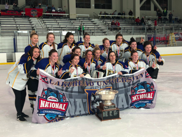 Women's Hockey Win ACHA D2 National Championship for a Second Time