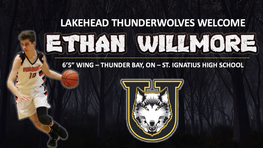 THUNDERWOLVES MEN'S BASKETBALL ADDS ETHAN WILLMORE TO ROSTER
