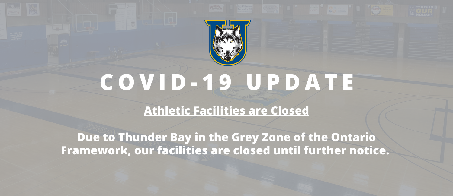 COVID-19 Update - Athletic Facilities are Closed